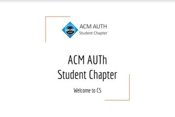 ACM Welcoming