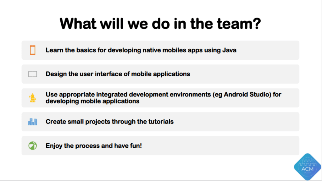 Mobile Dev Team - Info